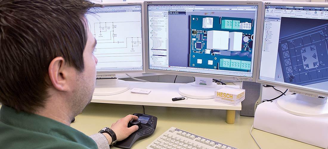 HESCH bietet individuelle Elektronikentwicklung