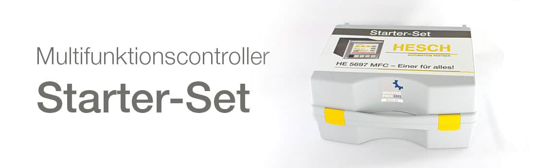 Buy multifunction controller from HESCH as starter set