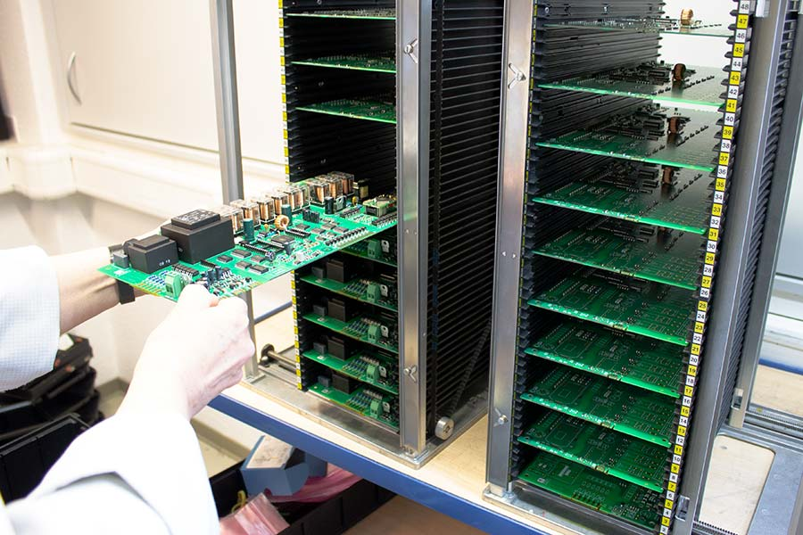 Production of printed circuit boards HESCH