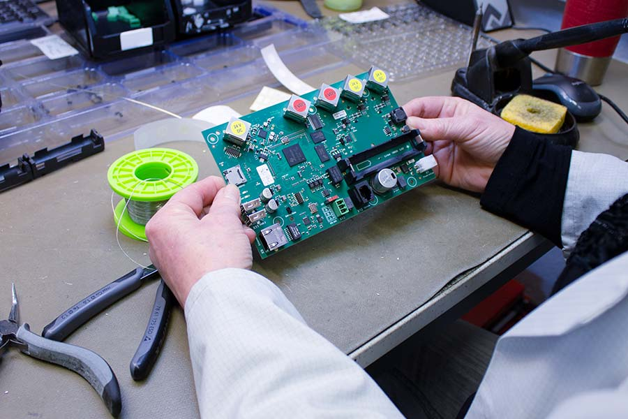 Printed circuit board inspection of HESCH assemblies