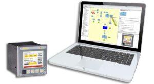 Multifunktionscontroller und Laptop mit Software EasyTool MFC