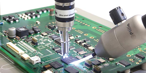 Elektronikfertigung von Prototypen bis hin zur Serienfertigung