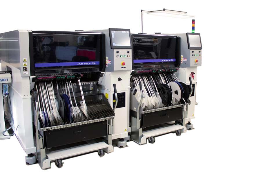 FUJI-AIMEXIIIc-Maschine fuer die Elektronikfertigung bei HESCH