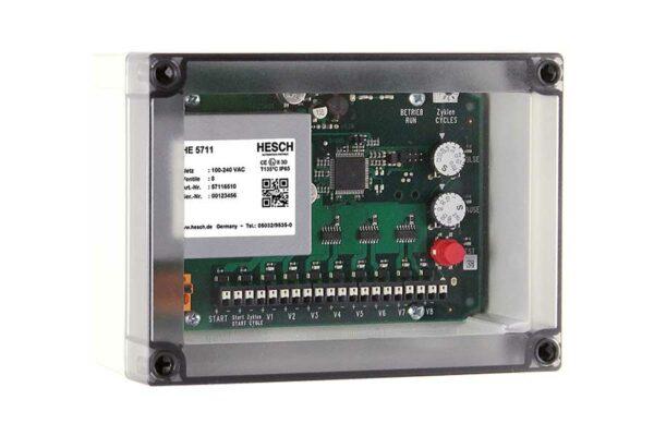 HE 5711 Ventilsteuerung im staubdichten Makrolongehäuse mit ATEX Zulassung (Zone 22)