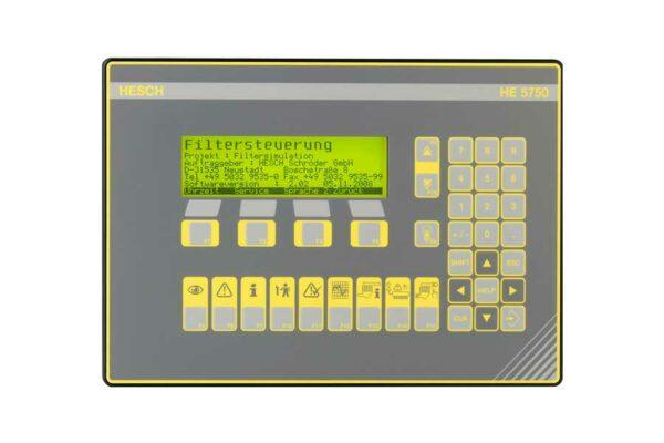 HE 5750 Master/Slave Filter Control System