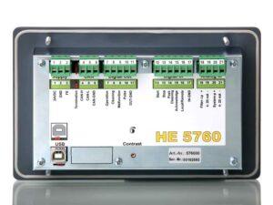 HE 5760 Filtersteuerung Anschlüsse