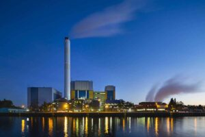 Valve control systems for waste incineration plants